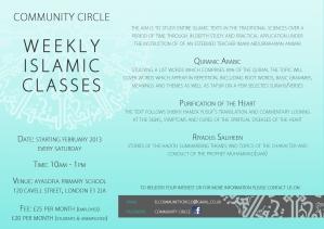 Community Circle 2013 Flyer