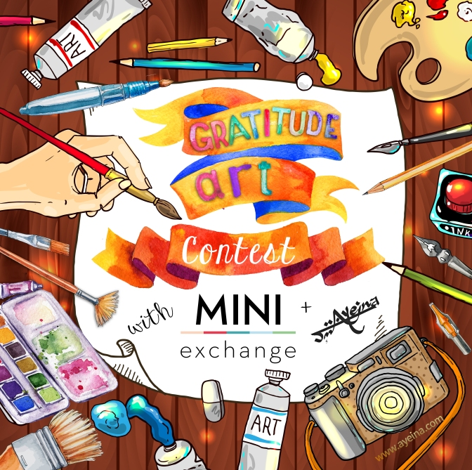 Ayeina Official – Gratitude Art Contest (in partnership with MiniExchange)