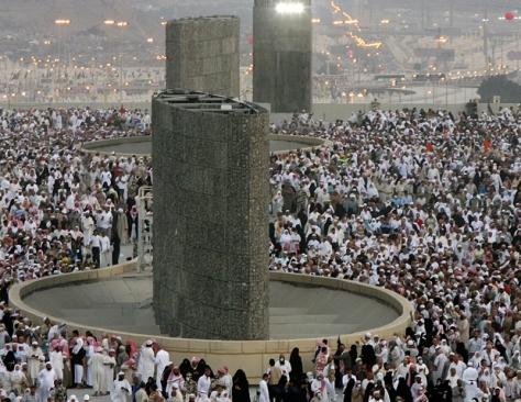 SAUDI-HAJJ-ISLAM-MINA-STONING