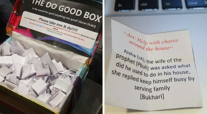 Do Good Box – Help