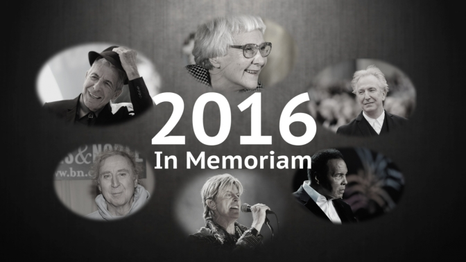 Reflection: Celebrity Deaths in 2016