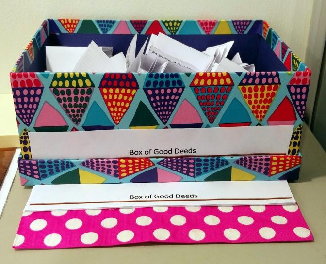 DIY – Make Your Own 'Box of Good Deeds'