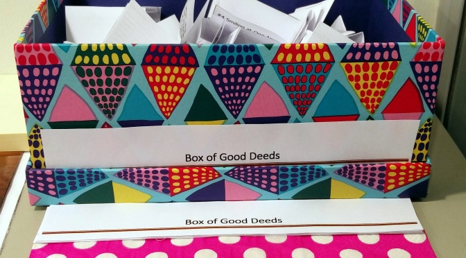 DIY – Make Your Own 'Box of Good Deeds'