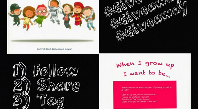 #Giveaway III – When I Grow Up I Want to Be…